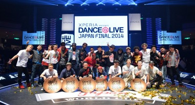 Xperia™ presents DANCE@LIVE 2014 JAPAN FINAL