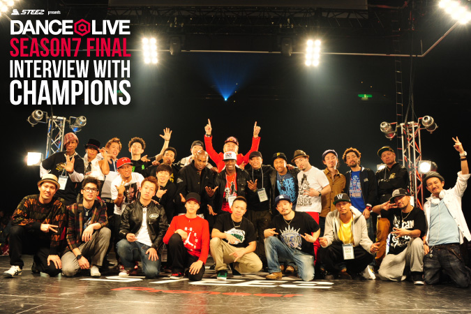 DANCE@LIVE SEASON7 FINAL Interview with Champions