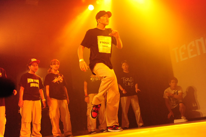 TEENS DANCE@PIECE 2012