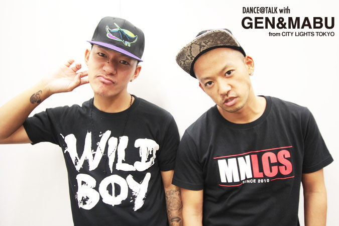 渋谷系ファッションアイコンGENとMABUがDANCE@HERO、自身の活動について語る。