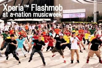 ストリートダンスを活用したプロモーション企画「Xperia™ Flashmob」<!--:--><!--:en-->The promotion plan which utilized the street dance「Xperia™ Flashmob」