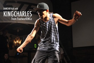 日本初来日!! KINGCHARLES from FootworKINGz が語る。