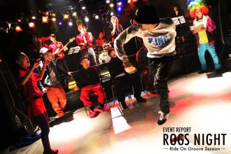 ROGS NIGHT ~Ride On Groove Session~