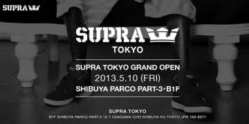 SUPRA TOKYOオープン!