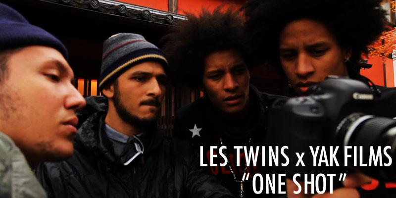 """「LES TWINS x YAK FILMS """"ONE SHOT"""" 」ブルーレイディスクが発売決定!!"""