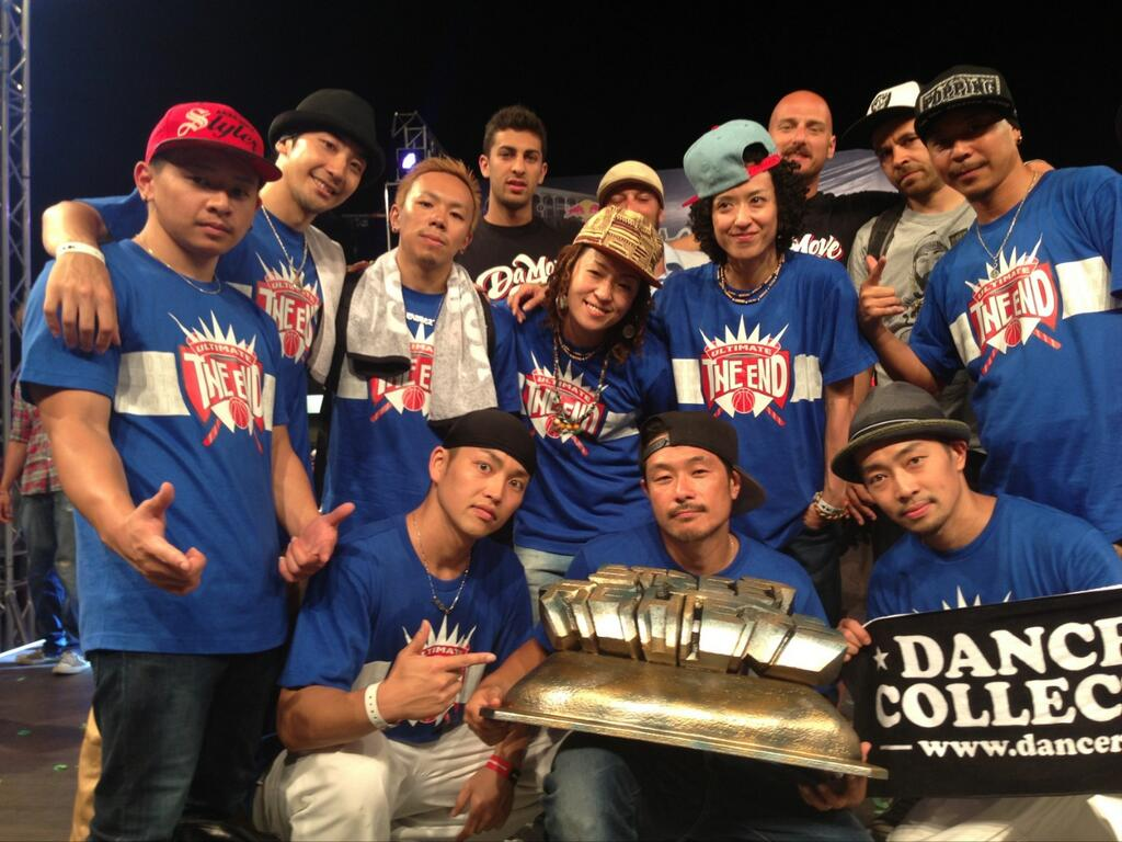 THE WEEK日本代表「THE END CREW」優勝!!
