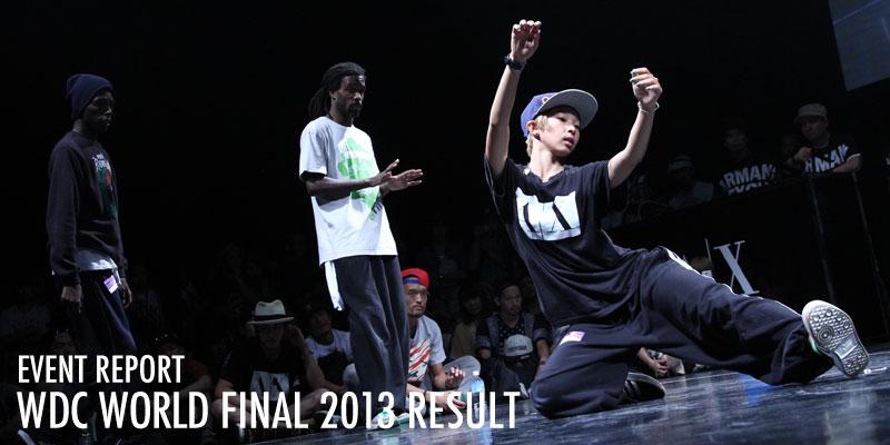 WDC WORLD FINAL 2013 RESULT