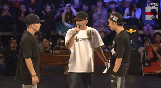 Red Bull BC One Asia Pacific Finals 2013 結果