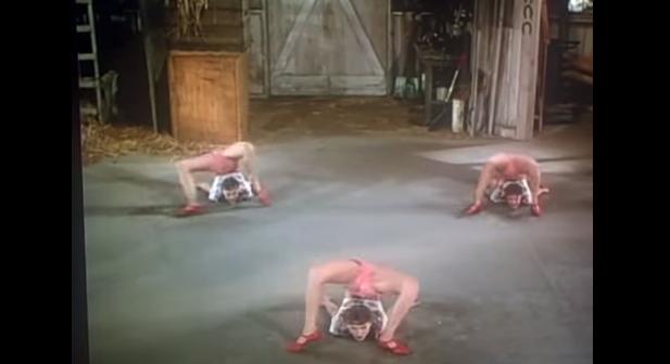 元祖軟体系B-GIRL!?1940年代に活躍していたダンサーの衝撃映像