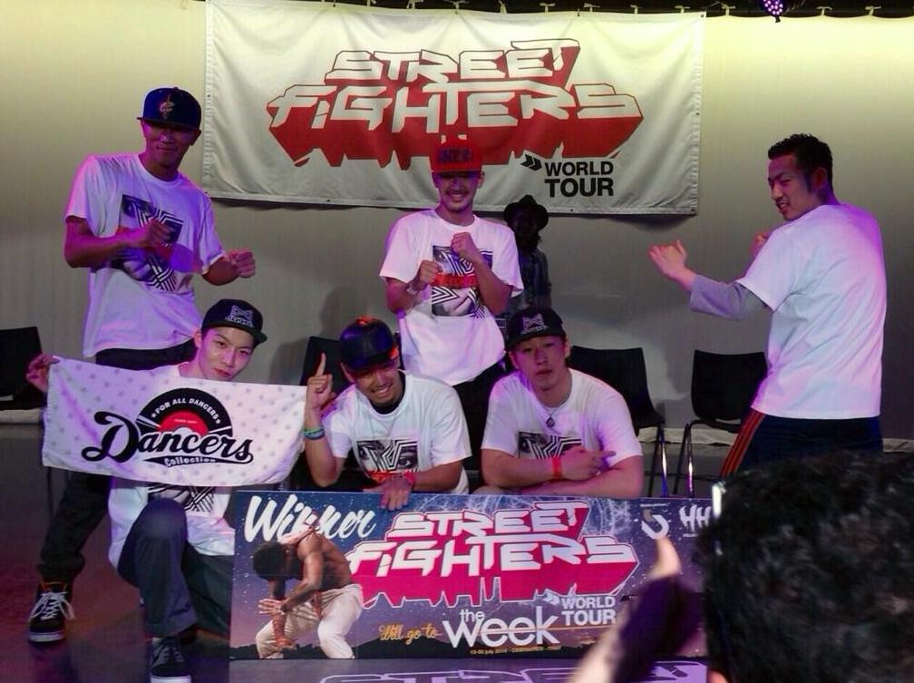 STREET FIGHTERS 日本予選 優勝を決め日本代表となったのはRECKLESS!