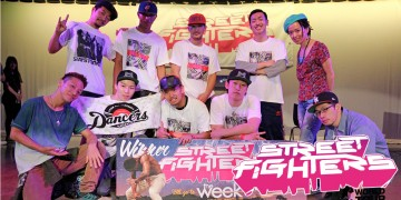 ダンサー STREET FIGHTERS World Tour 日本予選
