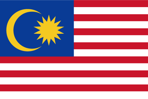 マレーシア 国旗 画像