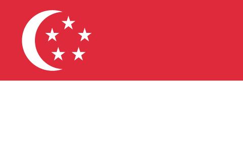 シンガポール 国旗 画像