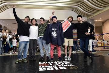 DANCE@LIVE JAPAN FINAL 2015 CREW BATTLE
