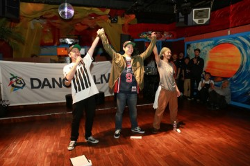 DANCE@LIVE 2016 4STYLES CHUBU  (HIPHOP & HOUSE)