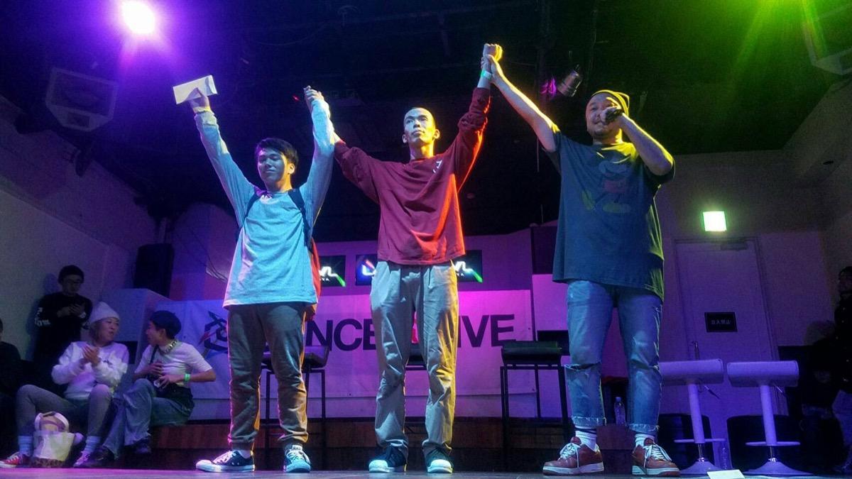 DANCE@LIVE 2017 4STYLES CHUBU (BREAK&ALL STYLES)