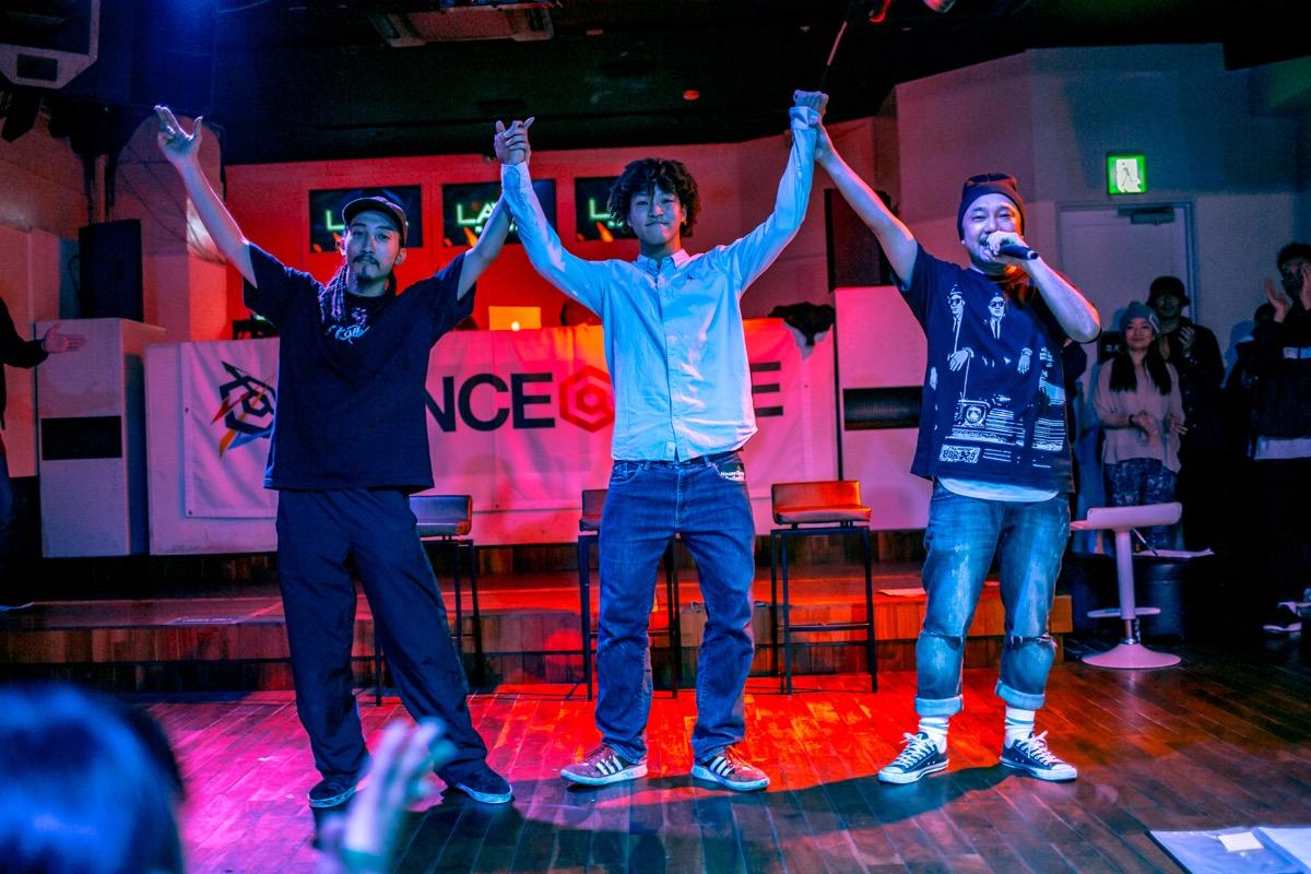 DANCE@LIVE 2017 4STYLES CHUBU (HIPHOP&HOUSE)