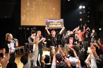 ダンサー JAPAN BEATBOX CHAMPIONSHIP 2011