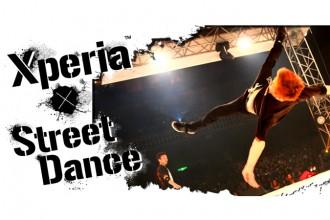 ダンサー Xperia™ × Street Dance ホームページオープン