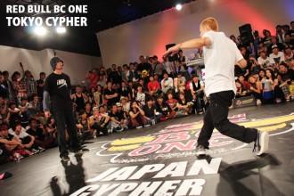 ダンサー RED BULL BC ONE TOKYO CYPHER
