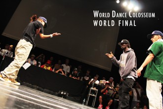 ダンサー WORLD DANCE COLOSSEUM WORLD FINAL