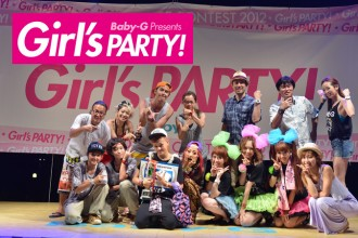 ダンサー Baby-G Presents Girl's PARTY!