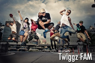ダンサー PICK UP DANCER Twiggz FAM