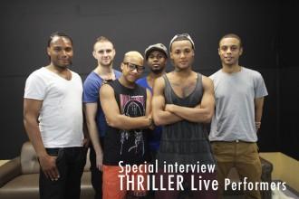 ダンサー マイケルとジャクソン5を凝縮したライブ・ステージパフォーマンス「THRILLER L!