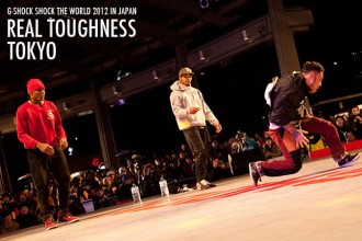 ダンサー G-SHOCK SHOCK THE WORLD 2012 IN JAPAN  REAL TOUGHNESS TOKYO