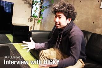 ダンサー Interview with HICKY 「オーストラリアでのストリートダンス」