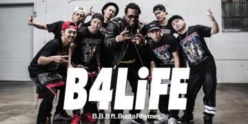ダンサー 世界初の偉業!遂にB.B.B ft. Busta Rhymes / B4LiFE ミュージックビデオが公開!