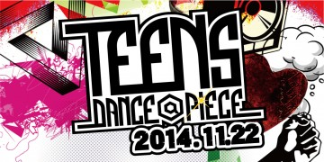 ダンサー TEENS DANCE@PIECE 2014
