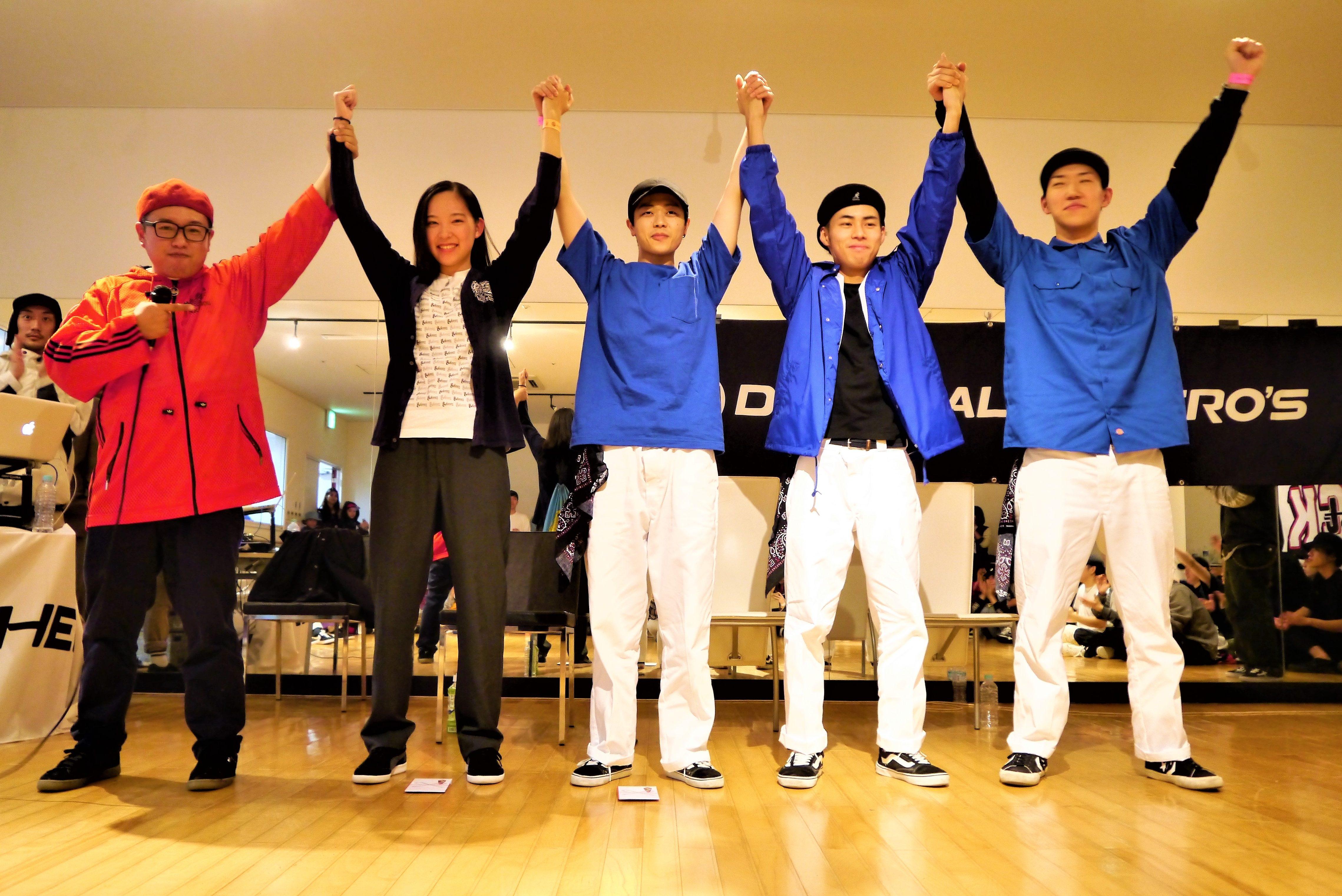 DANCE ALIVE HERO'S 2018 RIZE TOHOKU CLIMAX