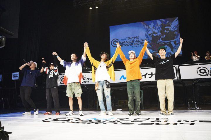 マイナビDANCE ALIVE HERO'S 2019 KANTO CHARISMAX 09.17.mon@新木場STUDIO COAST
